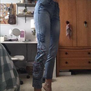 Desigual The Love - Boyfriend Fit Jeans